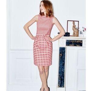 Boden Dresses - Boden Martha red geo print dress
